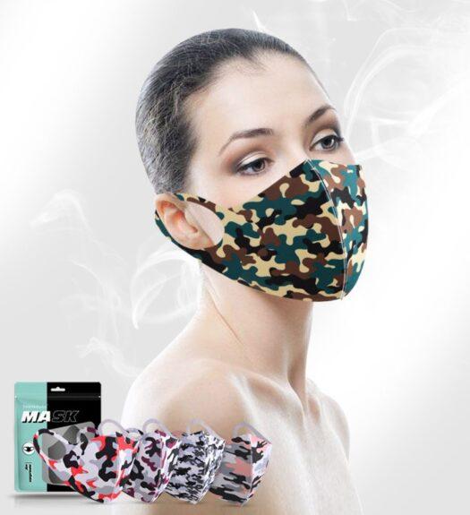 laadukas kasvomaski 100% polyesteri hengittävä pestävä