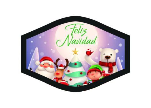 Feliz Navidad Merry Christmas Hyvää Joulua