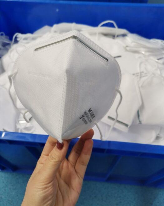 Hengityssuojain CE FFP2 kertakäyttöinen 50 kpl.