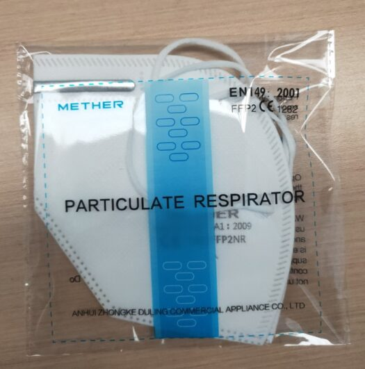 Hengityssuojain CE FFP2 kertakäyttöinen