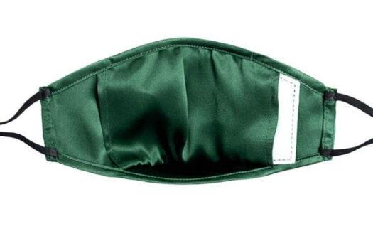 Elegante máscara de tela de máscara de seda de 3 capas