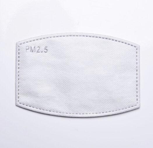 Potente filtro de carbón activado de 5 capas PM2.5